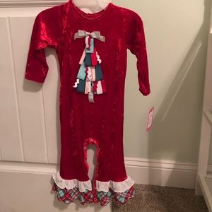 Ric Rac Other - Christmas Romper